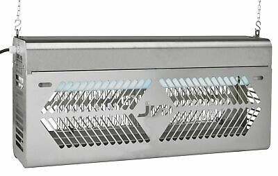 Insect Killer JVD Industry Pro IP54 up To 200 M ² With UV Light And Grid Fence