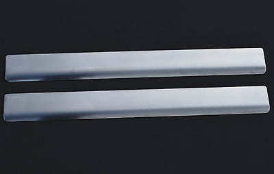 CHROME DOOR SILL PLATE COVERS SCUFF PROTECTORS TRIM SET FOR FORD TRANSIT CONNECT