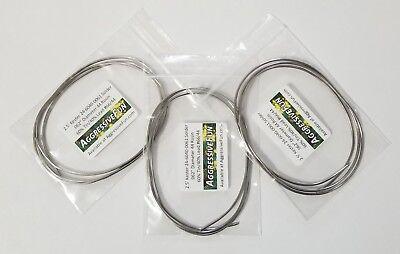 Kester 44 Rosin Core Solder .062 1.6mm 6040 Flux 24-6040-0061 New 7.5ft 2.3m