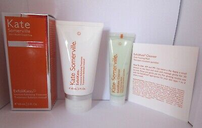 Kate Somerville Exfolikate Treatment 60 ml  BNIB+ Exfolikate Cleanser 30ml