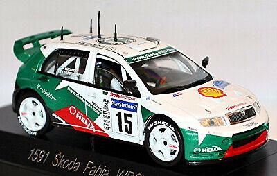 Skoda Fabia WRC 2003 15 Rallye di Francia 2003 Corsica 1:43 solido 1591