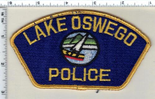Lake Oswego Police (Oregon) Uniform Take Off Shoulder Patch from 1989
