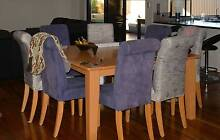 Square 8 seater Dining table Rockingham Rockingham Area Preview