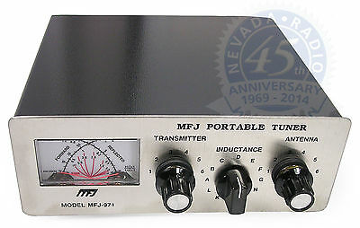 MFJ 971 portable/QRP manual ATU, covers 1.8 - 30MHz