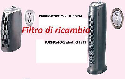 filtro di ricambio per purificatore d'aria mod KJ10 e KJ15 ricambi filtri