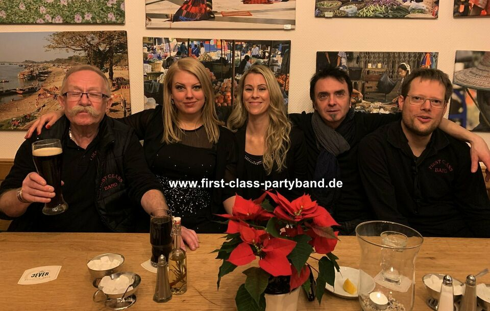 >>> FIRST CLASS PARTYBAND = MUSIC FOR ALL GENERATIONS <<< in Bremen (Stadt) - Findorff