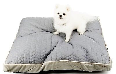PP2005 Dog Bed/Cushion/Pillow,100 % Polyester,Gray