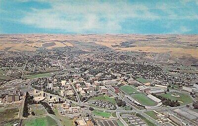 WASHINGTON STATE UNIVERSITY Aerial View Stadium 1959-64 Looking W postcard B43