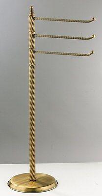 piantana per bagno porta asciugamani ottone fuso stile classico ab 622