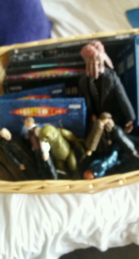 Bundle of Dr who items