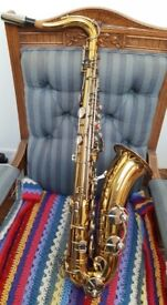 Sonora Tenor Saxophone, As new condition.