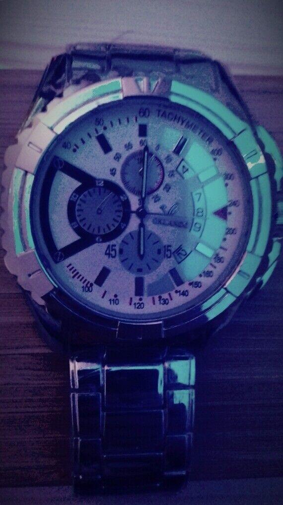 Orlando White Face Wrist Watch