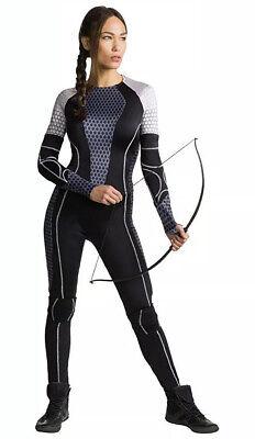 Official Hunger Games Katniss Everdeen Archer Womens' Girls' Costume Sz XS (0-2)