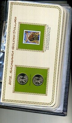 2001 2002 2007 2009 - 13 NATIVE AMERICAN DOLLAR P  D STAMP SET LOT WITH BINDER