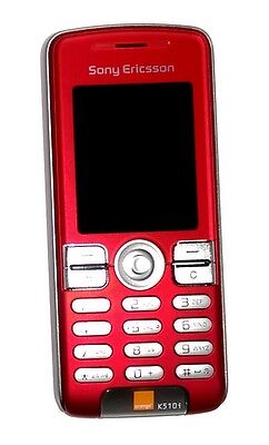 Unlocked Gsm Triband Bluetooth Phone - Sony Ericsson K510i SEDUCTIVE RED UNLOCKED TRIBAND GSM CAMERA,Bluetooth PHONE