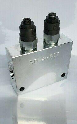 Hydraulic Dual Counterbalance Valve -8 Ports