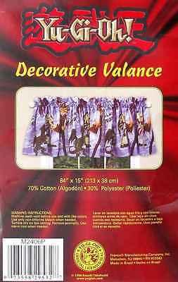 Yugioh Dueling Monsters Purple Valance Window Treatment New.