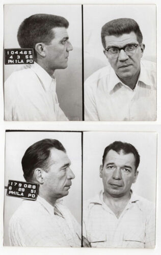 Michael Chatary & Norman Dolbow - $100,000 Gem Theft - Philly PD Mugshots