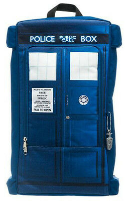 Doctor Who Tardis Photo Backpack Official Licensed Bioworld BP1QBLDRW00 (Doctor Who Backpack)