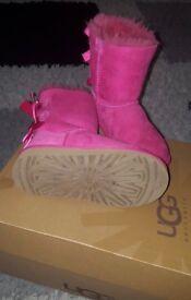Girl's original ugh boots size 9