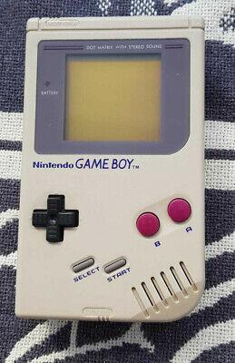 Original Nintendo Game Boy Handheld-Spielkonsole Gameboy Classic | Farbe grau Classic Original Nintendo Game
