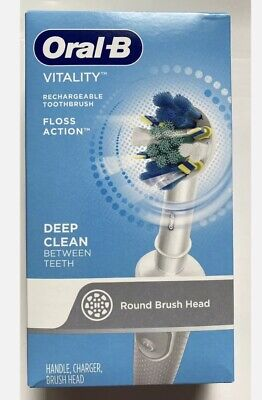 Oral-B Vitality Floss Action Deepclean Electric επαναφορτιζόμενη οδοντόβουρτσα New Box