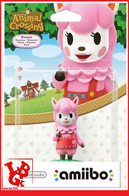 AMIIBO RISETTE Reese Animal Crossing Wii-U Wii U 3DS Nintendo Jeu Video  # NEUF#
