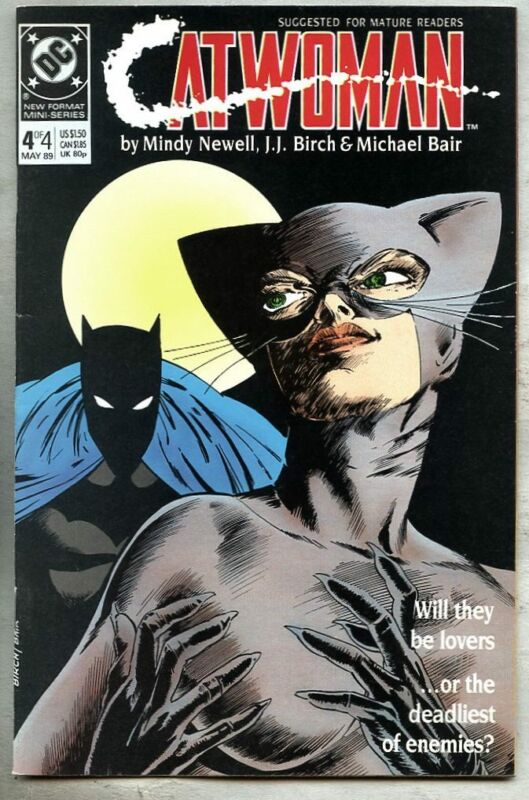 Catwoman #4-1989 vf/nm 1st Catwoman series Batman