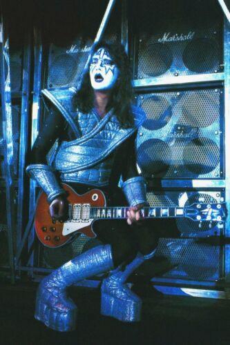 KISS Band Ace Frehley Live 24 x 36 Alive II Era Custom Poster - Rock Music