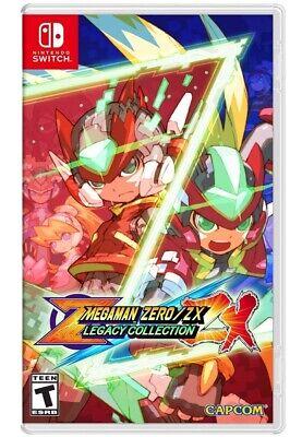 Mega Man Zero/ZX Legacy Collection Nintendo Switch Game (#)