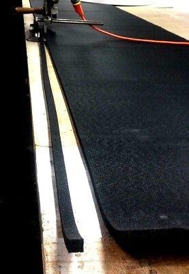 Neoprene Rubber Sheet Solid Strip 12 Thk X 58 W X 12-foot L 60 Duro Std