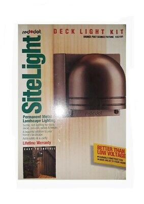 Red Dot K851BR | Bronze Post Top Fixture | Site Light (New!) Bronze Post Top