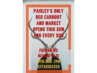 Paisleys only weekly carboot and market