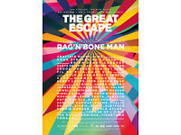 Great Escape festival 18-20 May in Brighton - 1 ticket!