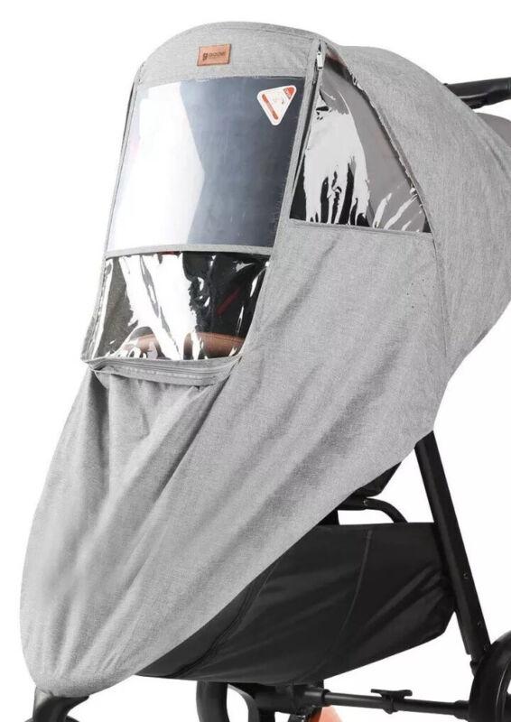 Goovi Stroller Cover Waterproof Pvc (grey) Fast Free Shipping