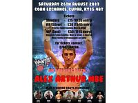 A night of boxing in Cupar