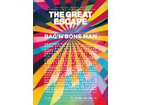 The Great Escape - Delegate Ticket (Various Venues Brighton)