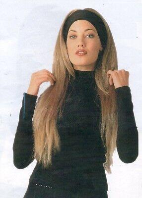 irn - Sport - Schwitz/Schweißband schwarz dehnbar top Angebot (Haarband Perücken)