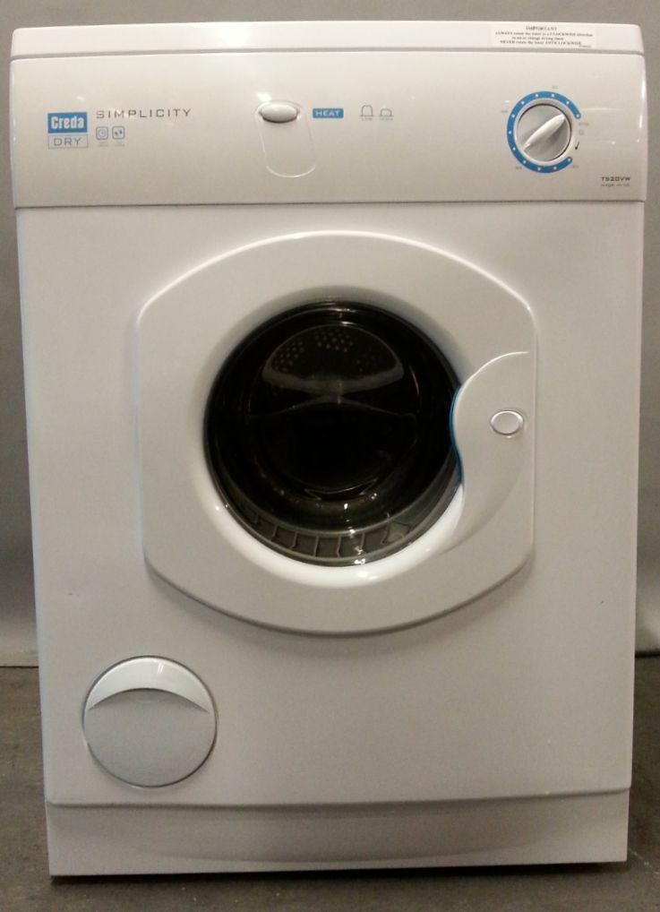 Tumble Dryer Uk ~ Creda tumble dryer t vw wc month warranty