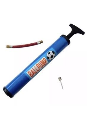 FOOTBALL PUMP BIKE BICYCLE SOCCER RUGBY FOOT BALL INFLATING FLEXI ADAPTOR NEEDLE