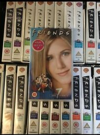 Friends series 1 to 7 box sets VHS TAPES