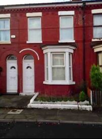 Bootle Large 2 bed Terrace & Back Garden