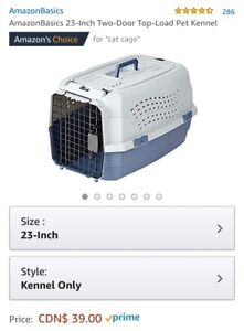 Cat /kitten crate / kennel for sale