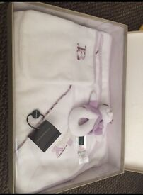 BNWT Burberry boxed baby gift set