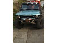 Land Rover Tray Back