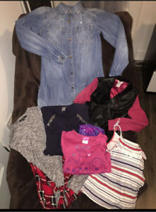 Lot vêtements fille 6ans
