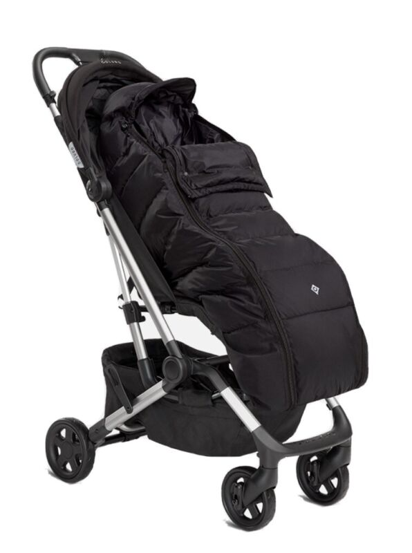 Colugo Zip Up-The Cozy for Stroller , Black
