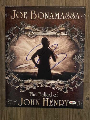 "JOE BONAMASSA (Guitarist~Singer~Songwriter) signed 11""x14"" photo  ~ PSA/DNA COA"