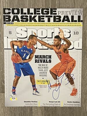 MARCUS SMART signed / autographed 11x14 photo ~ Oklahoma State ~ PSA/DNA COA