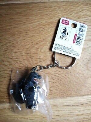 Original Form Godzilla Keychain TOHO CINEMAS Japan Exclusive